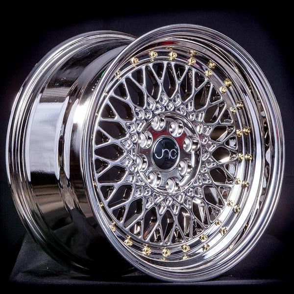 JNC031 Platinum Gold Rivets