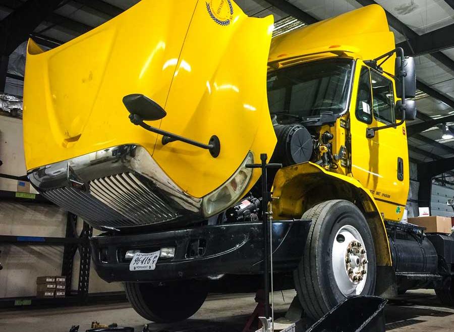 Fleet vehicle Tire Service
